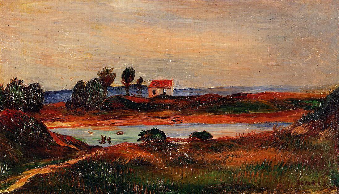 View of Brittany | Pierre Auguste Renoir | Oil Painting