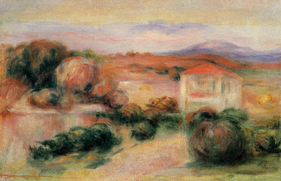 White Houses 1910 | Pierre Auguste Renoir | Oil Painting