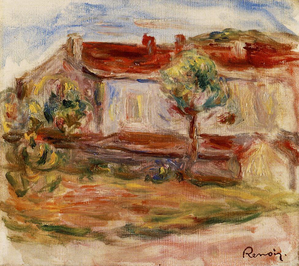 White House 1915 | Pierre Auguste Renoir | Oil Painting