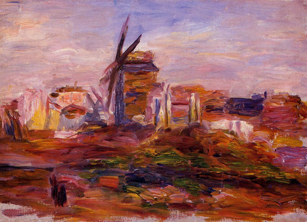 Windmill | Pierre Auguste Renoir | Oil Painting