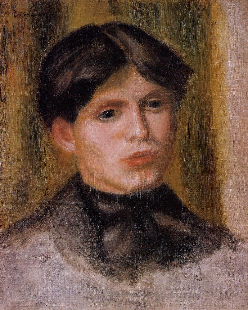 Womans Head3 | Pierre Auguste Renoir | Oil Painting