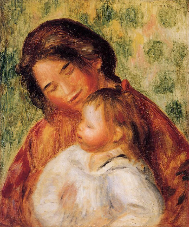 Woman and Child | Pierre Auguste Renoir | Oil Painting