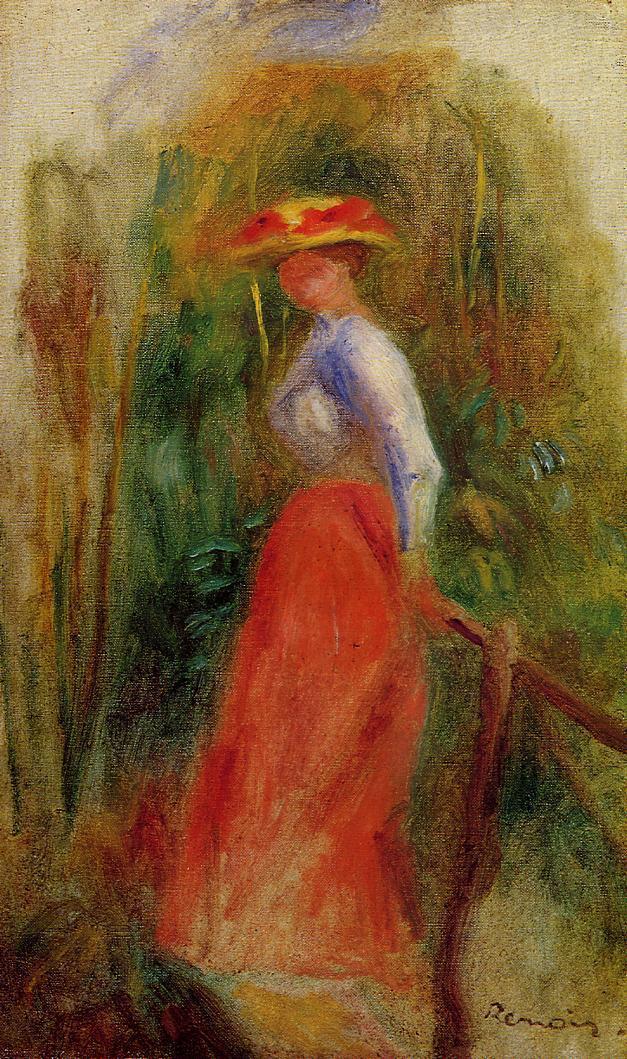 Woman in a Landscape1 | Pierre Auguste Renoir | Oil Painting