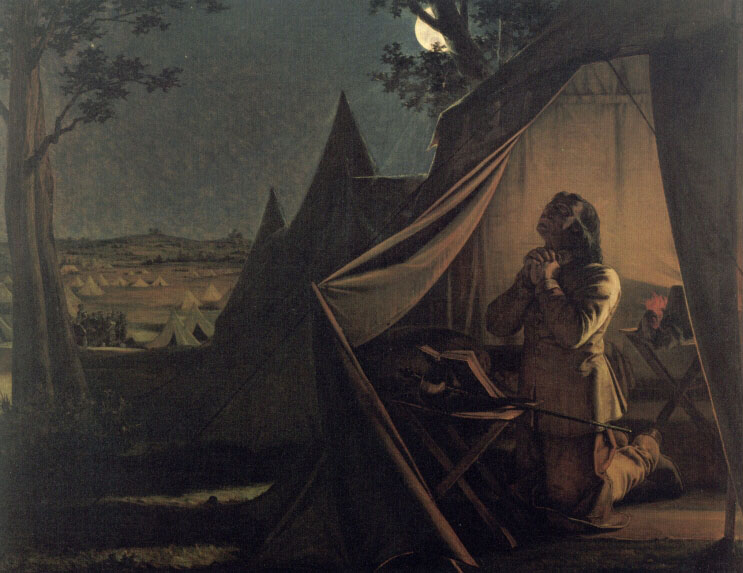 The Night Before Naseby | Augustus Leopold Egg | Oil Painting