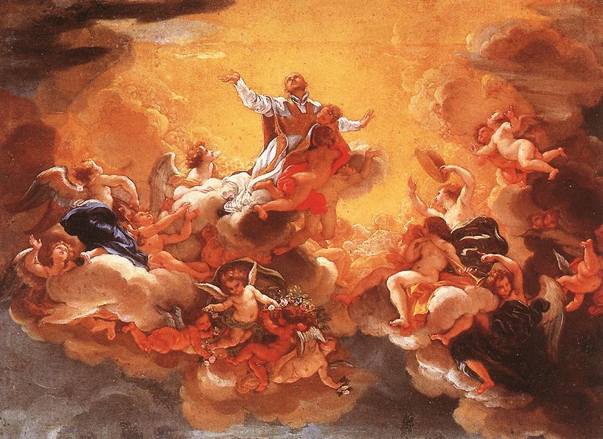 Apotheosis Of St Ignatius 1685 | Baciccio | Oil Painting