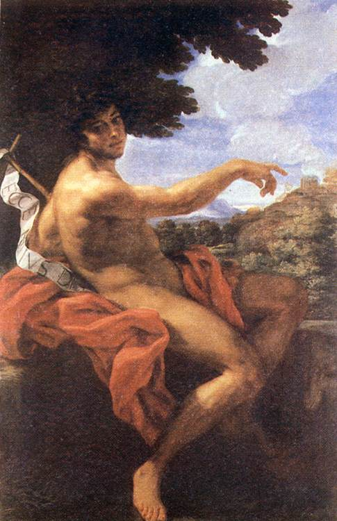 St John The Baptist 1676 | Baciccio | Oil Painting