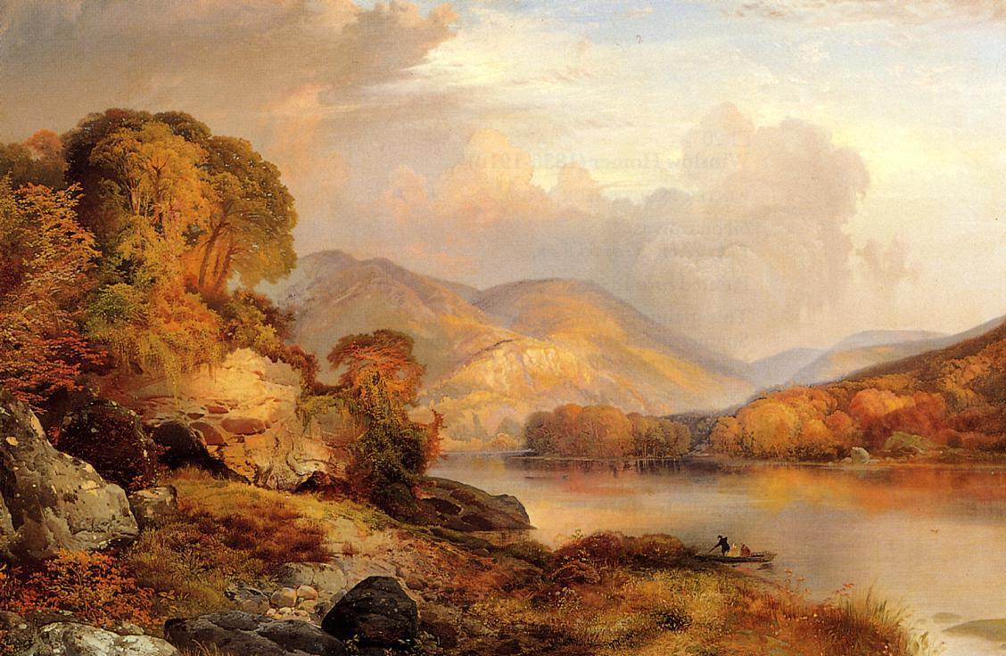 Autumn Landscape 1867 | Jean Baptiste Corot | Oil Painting
