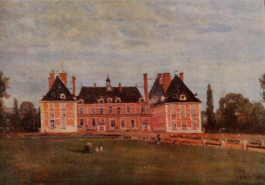 Chateau de Rosny 1840 | Jean Baptiste Corot | Oil Painting