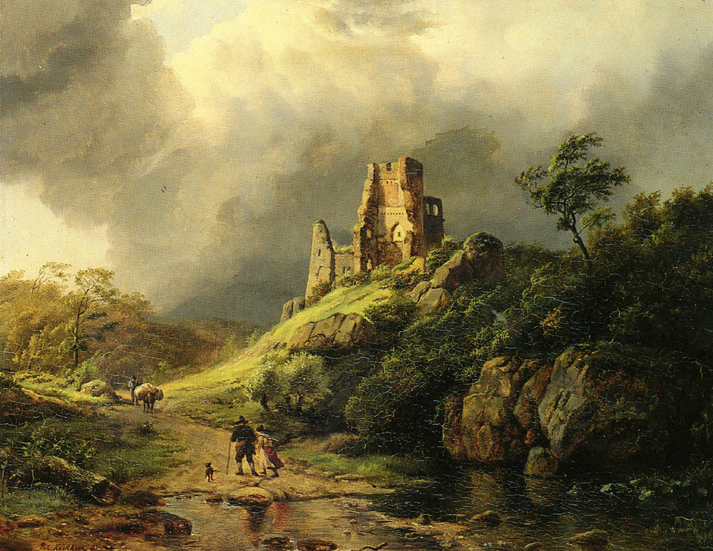 The Approaching Storm | Barend Cornelis Koekkoek | Oil Painting
