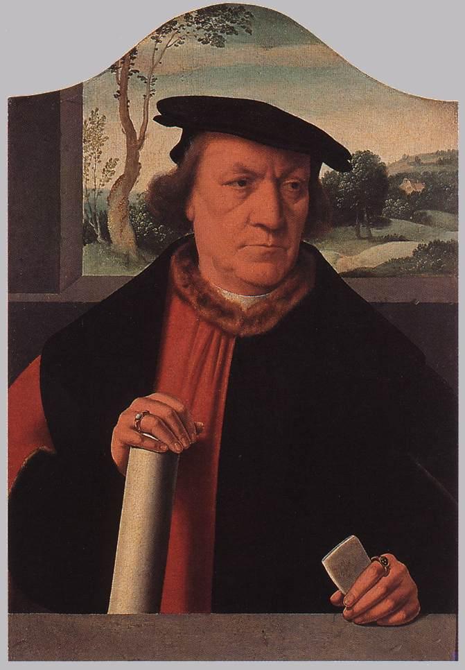 Burgomaster Arnold Von Brauweiler 1535 | Barthel Bruyn | Oil Painting