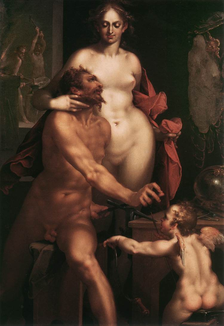 Venus and Vulcan 1610 | Bartholomeus Spranger | Oil Painting