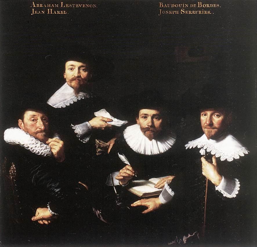 Regents Of The Walloon Orphanage 1637 | Bartholomeus Van Der Helst | Oil Painting