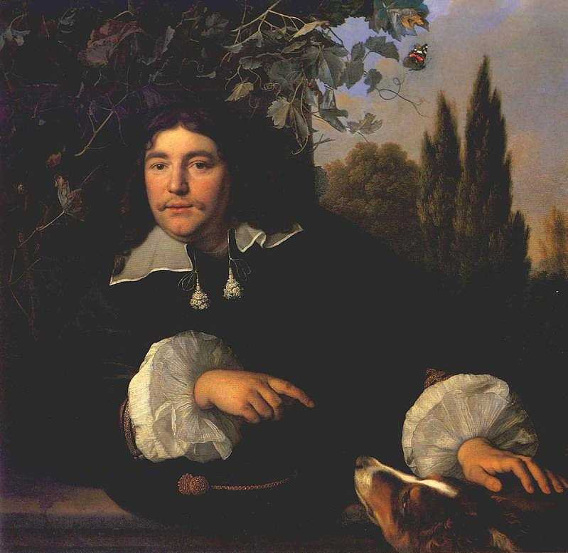 Self Portrait 1655 | Bartholomeus Van Der Helst | Oil Painting