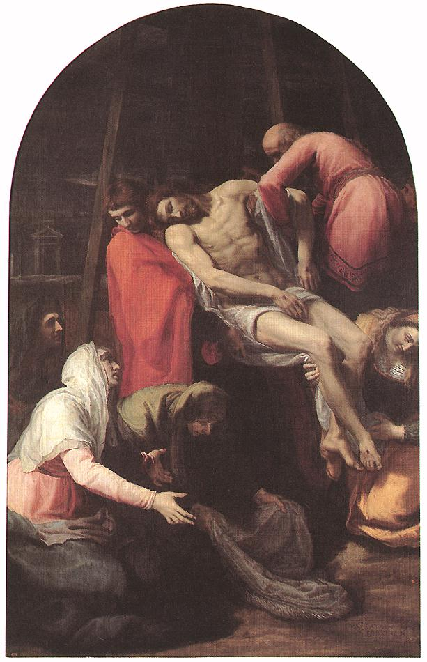 Descent From The Cross 1595 | Bartolome Carducho | Oil Painting