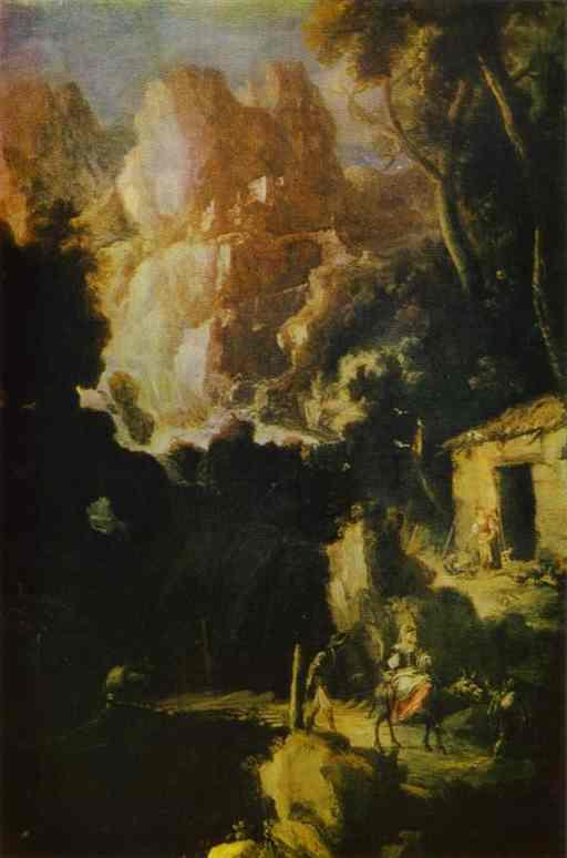 Landscape 1680 | Bartolome Esteban Murillo | Oil Painting