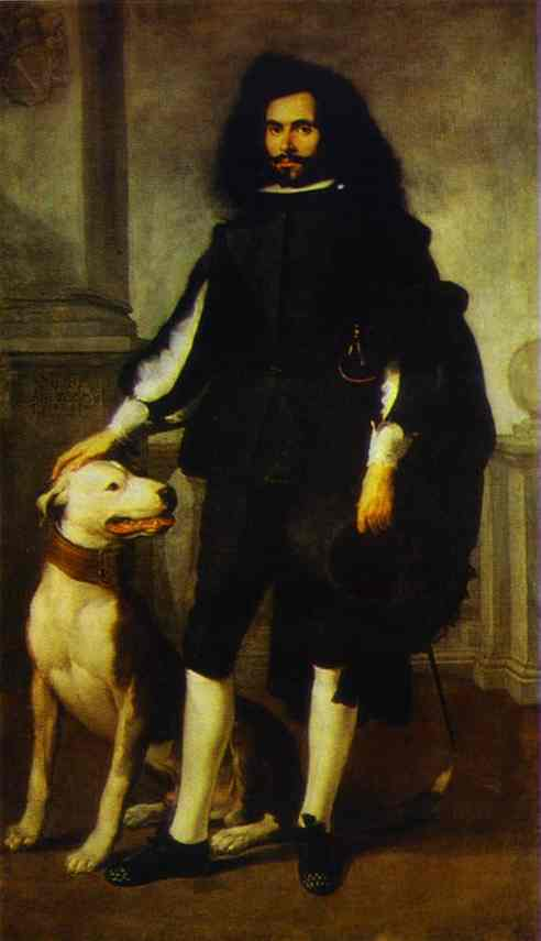 Portrait Of Andres De Andrade I La Col 1656-1660 | Bartolome Esteban Murillo | Oil Painting