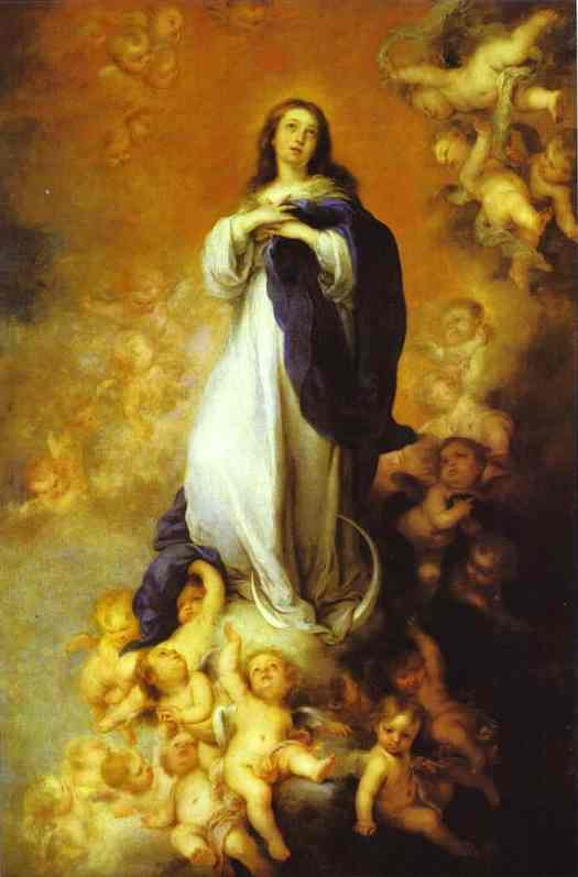 Our Lady Of The Immaculate Conception 1678 | Bartolome Esteban Murillo | Oil Painting
