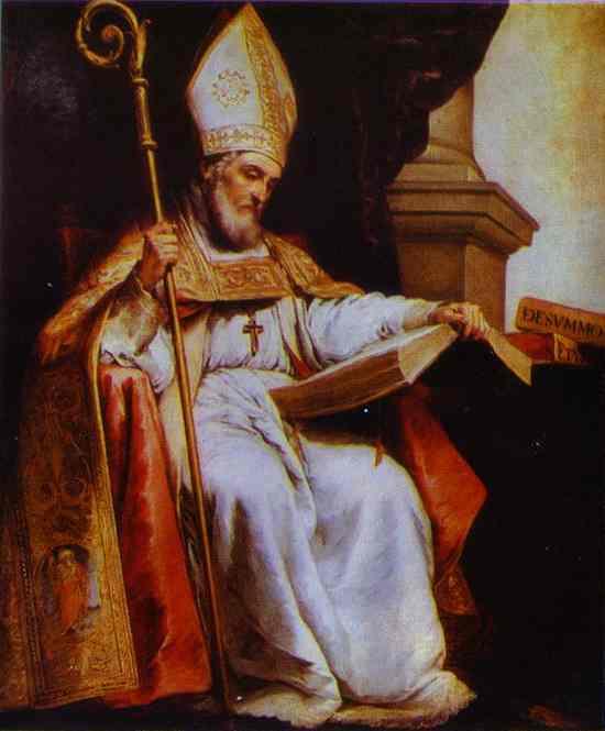 St Leander 1655 | Bartolome Esteban Murillo | Oil Painting