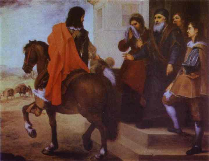 The Departure Of The Prodigal Son 1660s | Bartolome Esteban Murillo | Oil Painting