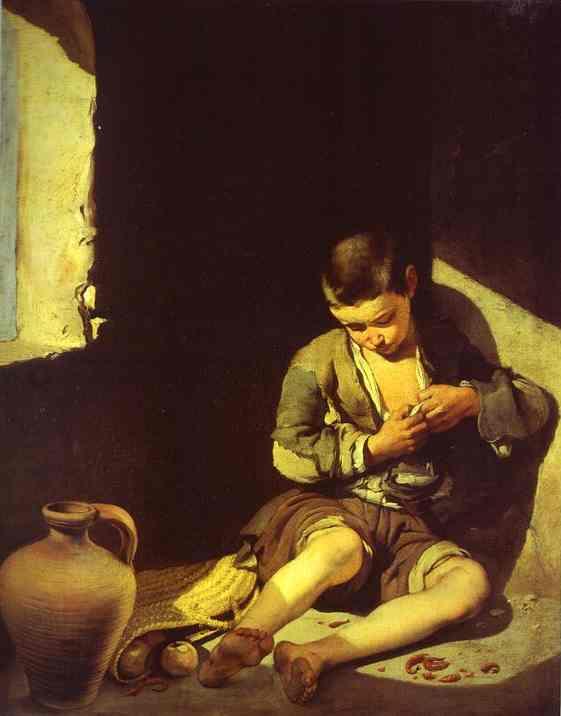 The Beggar Boy 1650 | Bartolome Esteban Murillo | Oil Painting