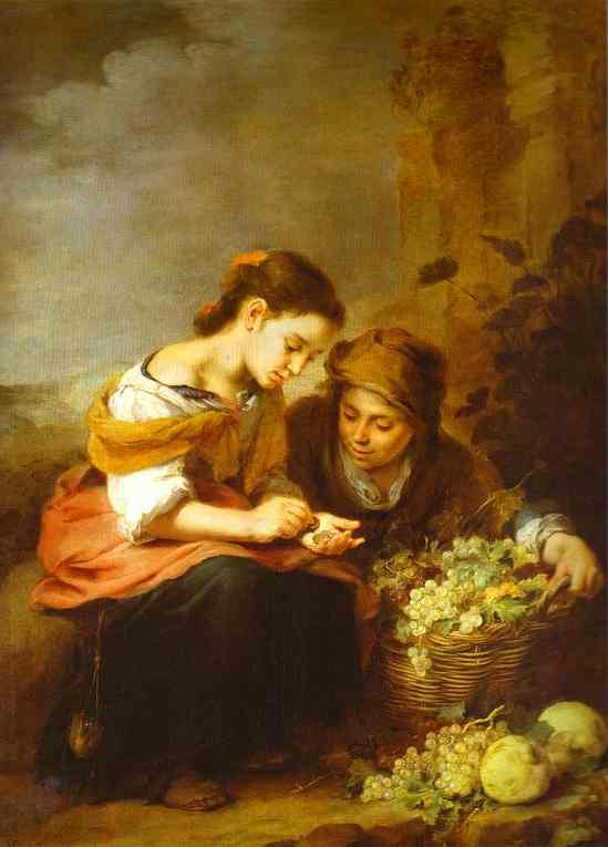 The Holy Family With A Little Bird 1650 | Bartolome Esteban Murillo | Oil Painting