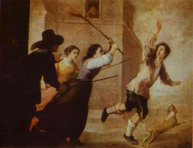 The Prodigal Son Driven Out 1660s | Bartolome Esteban Murillo | Oil Painting