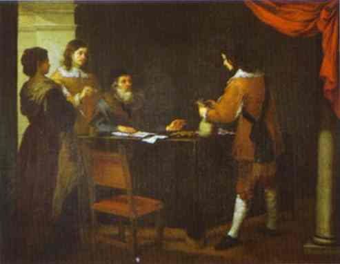 The Prodigal Son Receiving His Portion Of Inheritance 1660s | Bartolome Esteban Murillo | Oil Painting