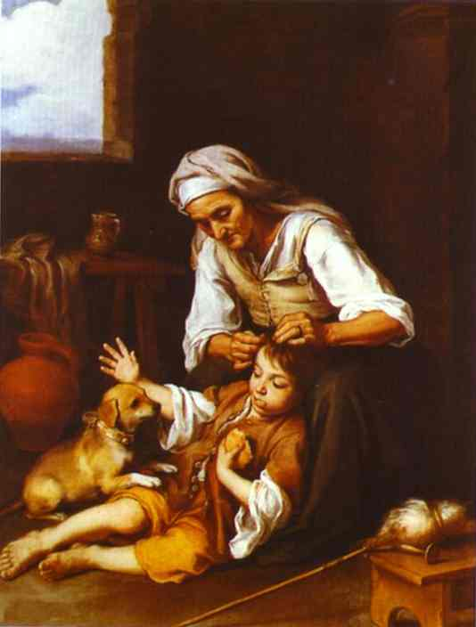 The Toilette 1670-1673 | Bartolome Esteban Murillo | Oil Painting