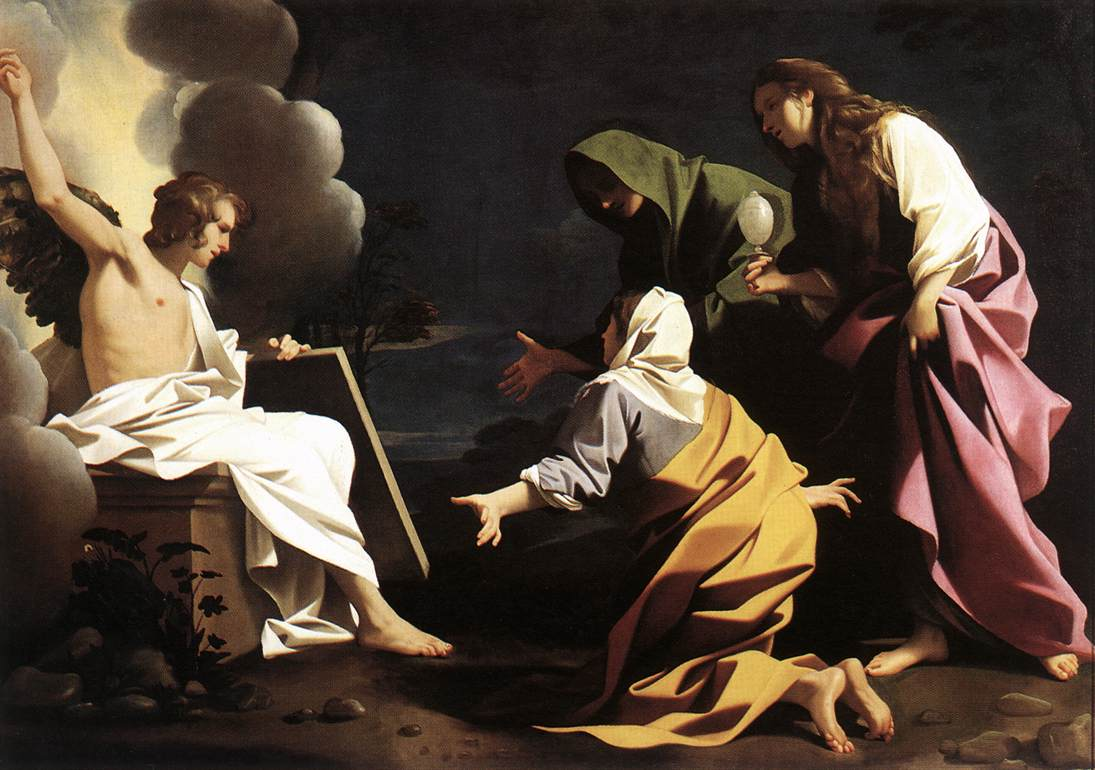 The Two Marys at the Tomb 1613 | Bartolomeo Schedoni | Oil Painting