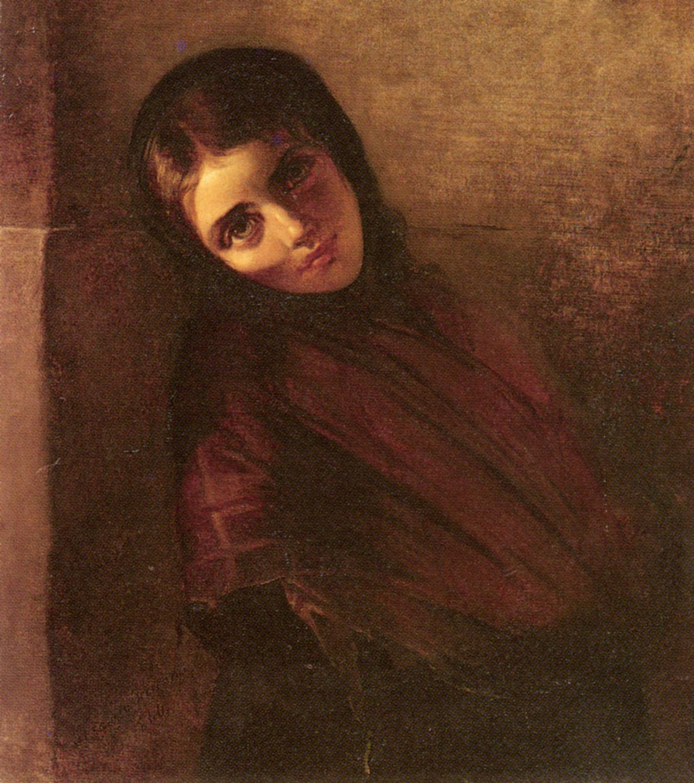 A Young Girl | Anna Maria Elisabeth Jerichau-Baumann | Oil Painting