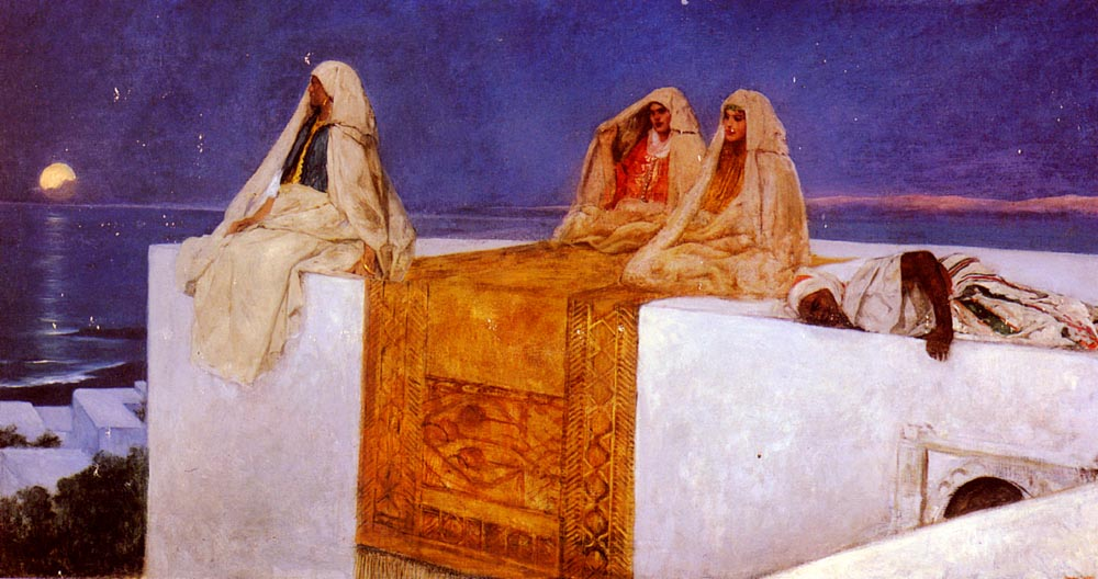 Arabian Nights | Benjamin Constant | Oil Painting