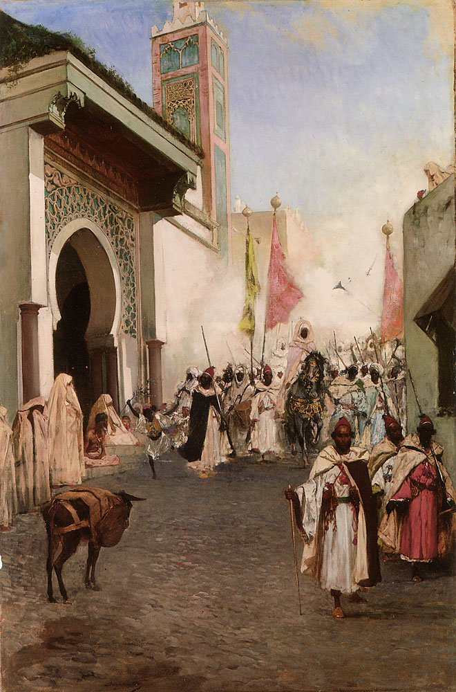 Entrance of Mohammed II | Benjamin Constant | Oil Painting