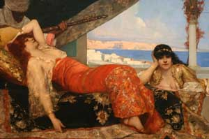 Favorite of the Emir | Benjamin Constant | Oil Painting