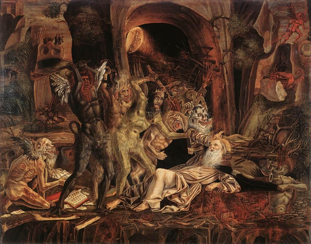 Temptations of St Anthony 1494 | Bernardino Parenzano | Oil Painting