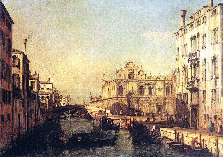 The Scuola Of San Marco 1738-40 | Bernardo Bellotto | Oil Painting