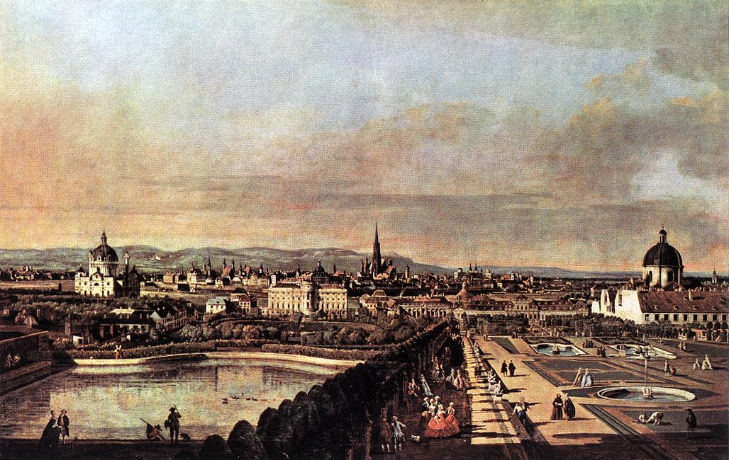 View Of Vienna From The Belvedere 1759-60 | Bernardo Bellotto | Oil Painting