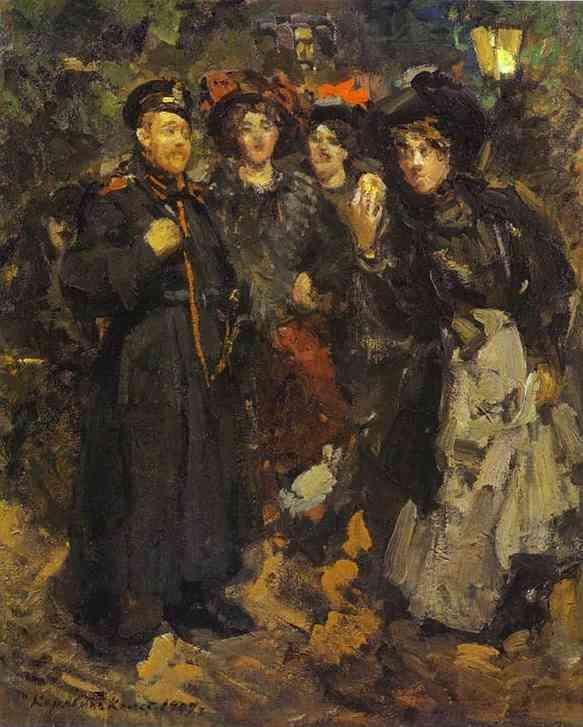 A Boulevard 1902 | Bernardo Strozzi | Oil Painting