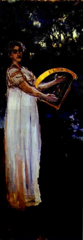 A Muse 1887 | Bernardo Strozzi | Oil Painting