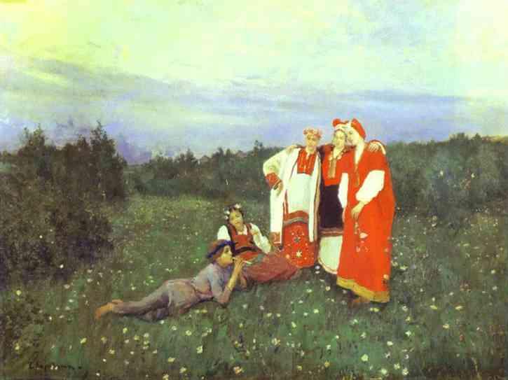 A Nothern Idyll 1886 | Bernardo Strozzi | Oil Painting