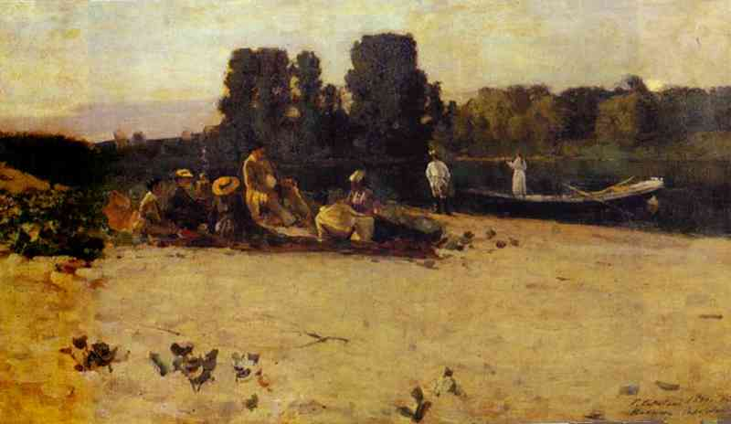A Picnic 1880 | Bernardo Strozzi | Oil Painting