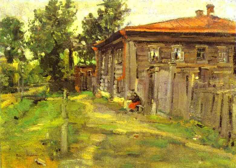 A Street In Pereslavl 1905 | Bernardo Strozzi | Oil Painting