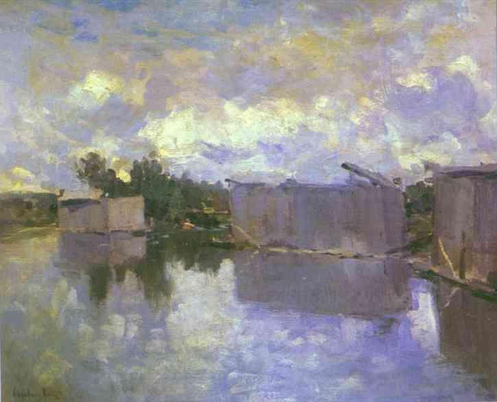 Bath Houses 1910s | Bernardo Strozzi | Oil Painting