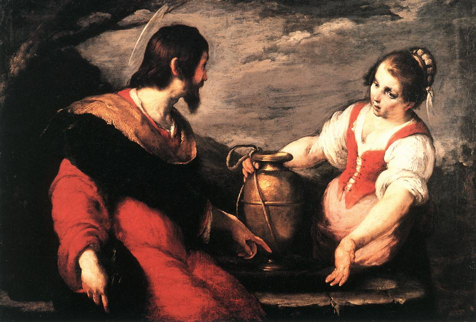 Christ And The Samaritan Woman | Bernardo Strozzi | Oil Painting