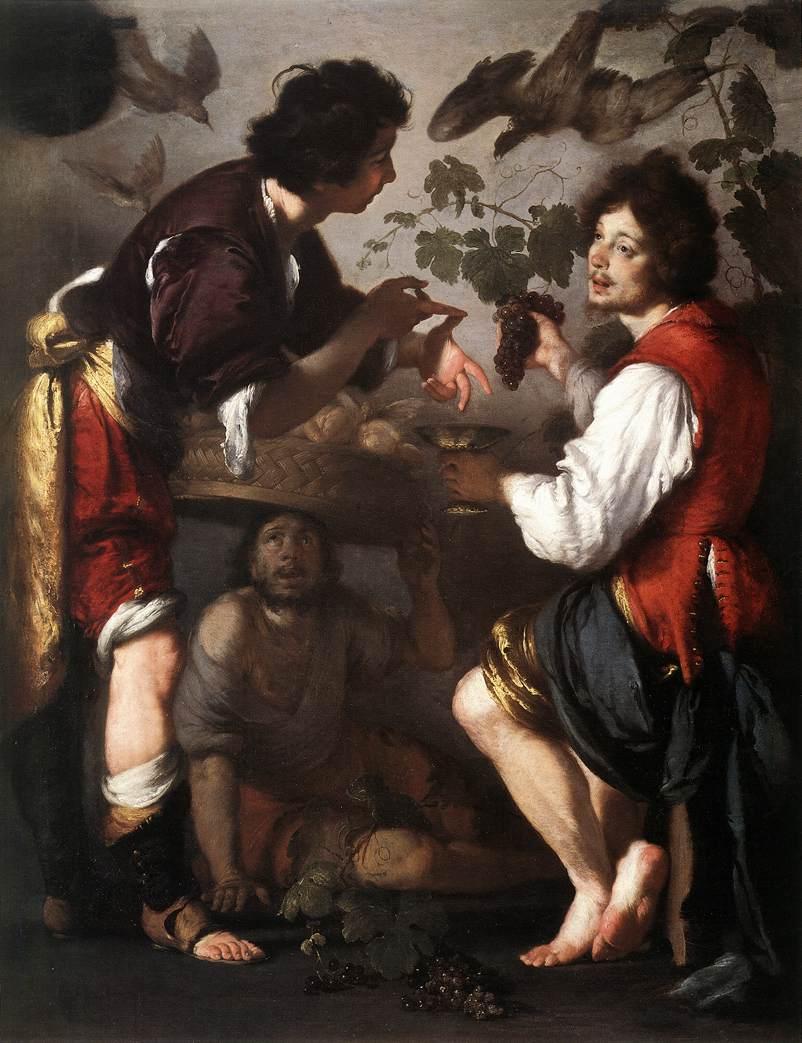 Joseph Telling His Dreams 1626 | Bernardo Strozzi | Oil Painting