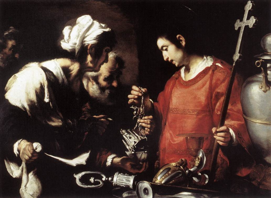 The Charity Of St Lawrence 1615-20 | Bernardo Strozzi | Oil Painting