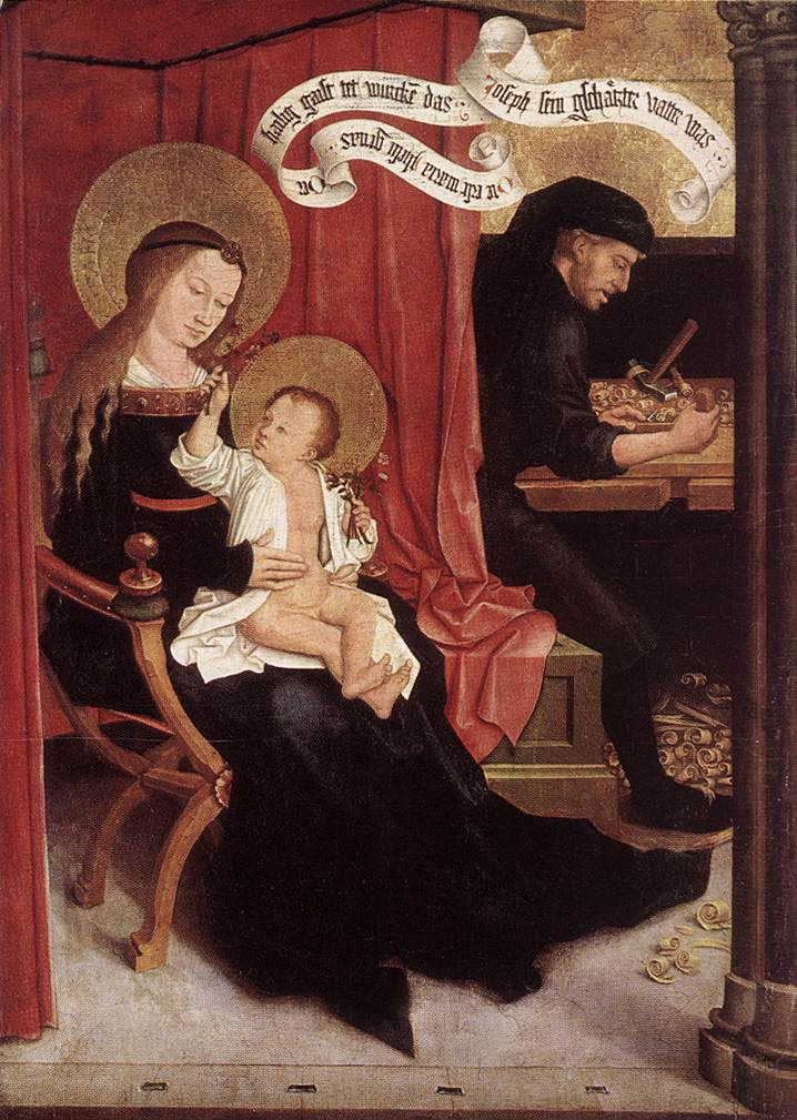 Holy Family 1505 | Bernhard Strigel | Oil Painting
