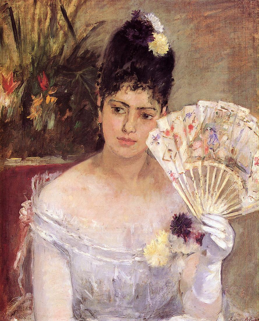 At the Ball 1875 | Berthe Morisot | Oil Painting