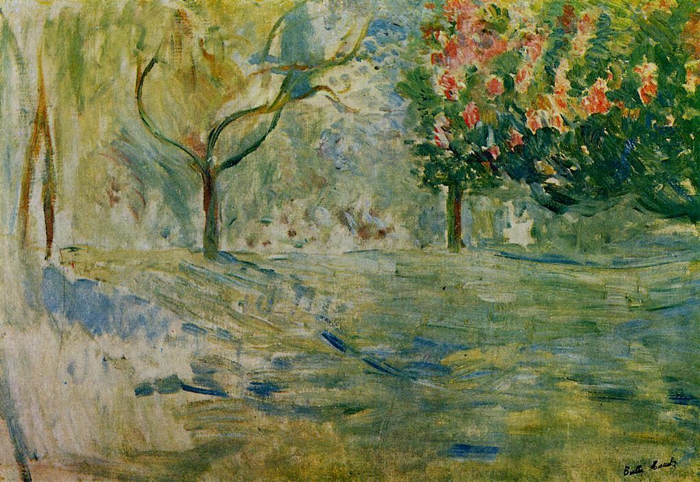 Avenue du Bois de Boulogne in Spring 1893 | Berthe Morisot | Oil Painting