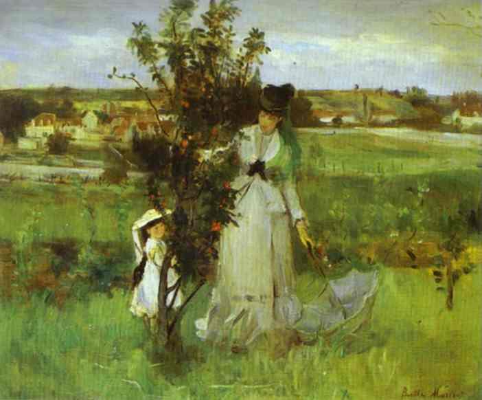 Hide And Seek 1873 | Berthe Morisot | Oil Painting