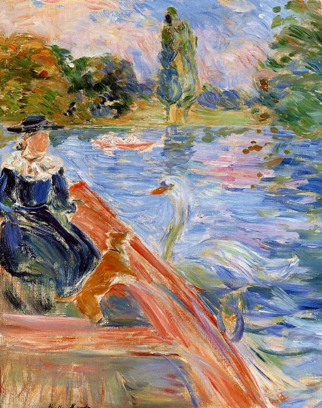 Boating on the Lake 1892   Berthe Morisot   Oil Painting